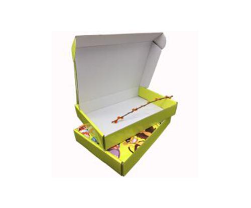 彩色飞机盒