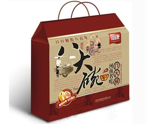 达茂旗彩色包装纸盒